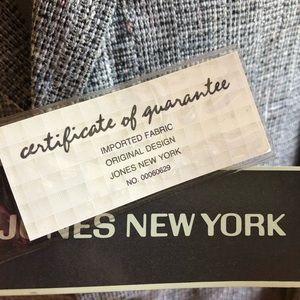 Jones New York Jackets & Coats - Mens Vintage NWT Jones NY Suit Jacket Gray Linen